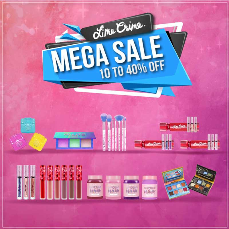 Promotions, โปรโมชั่น, LIME CRIME, LIME CRIME Thailand, LIME CRIME ลดราคา, LIME CRIME เซล, LIME CRIME เซลส่งท้ายปี, LIME CRIME ลดราคาพิเศษ, LIME CRIME โปรโมชั่นพิเศษ, LIME CRIME ราคาพิเศษ
